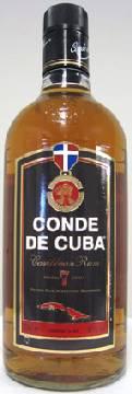 コンデ デ キューバ 7年 40% 700ml