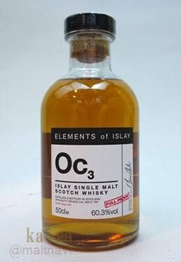Oc3(オクトモア)60.3%/エレメンツ・オブアイラ500ml