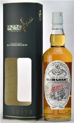 グレングラント2008_46%/G&M蒸留所ラベル