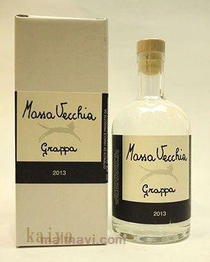 マッサヴェッキアのグラッパ2013_500ml カポヴィラ蒸留