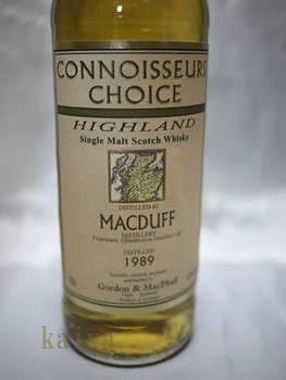マクダフ2000_12年46%/G&Mコニサーズチョイス