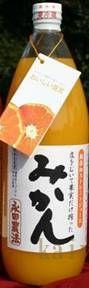 りょくけん永田農法のみかんジュース」1L×12本