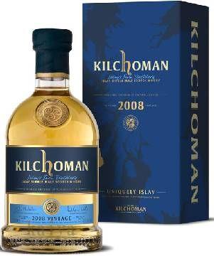 キルホーマン2008_7年熟成バーボンバレル46%700ml