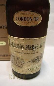 カルバドス30年「CORDON OR」40%/ピエールユエット社