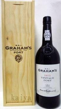 グラハム 1975_20%/ポートワイン