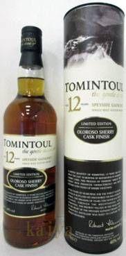トミントール 12年 オロロソ シェリーC._40%_700ml