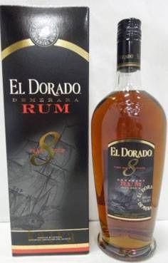 エルドラド デメララ  8年_40%_700ml/ラム酒