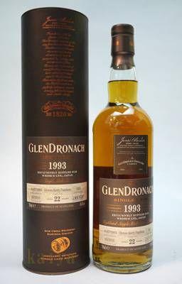 グレンドロナック1993_22年54.4%オロロソパンチョン
