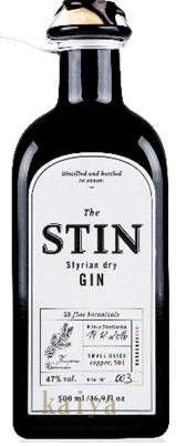 スティン STIN-Styrian dry GIN 47% 500ml